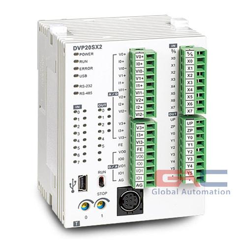 PLC Delta DVP-SX2